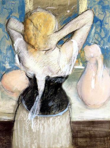 Edgar (Hilaire Germain) Degas (de Gas) - Die Toilette