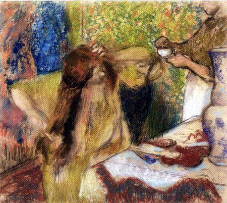Edgar (Hilaire Germain) Degas (de Gas) - Bei der Toilette