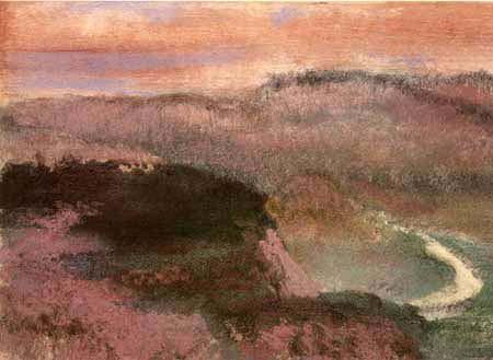 Edgar (Hilaire Germain) Degas (de Gas) - Landscape