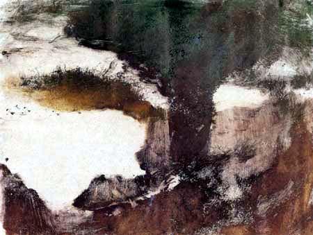 Edgar (Hilaire Germain) Degas (de Gas) - Landschaft