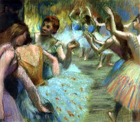 Edgar (Hilaire Germain) Degas (de Gas) - Das Ballett