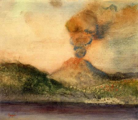 Edgar (Hilaire Germain) Degas (de Gas) - -der Vesuv
