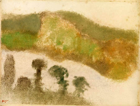 Edgar (Hilaire Germain) Degas (de Gas) - Tal zwischen den Bergen