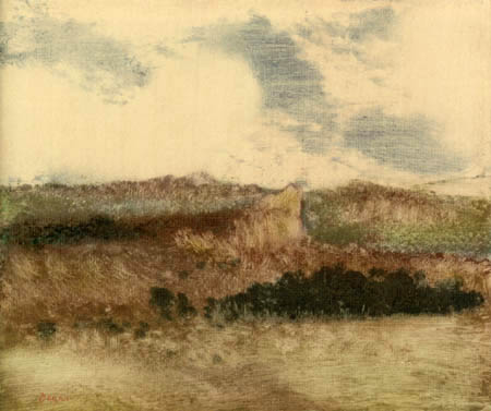 Edgar (Hilaire Germain) Degas (de Gas) - Landschaft