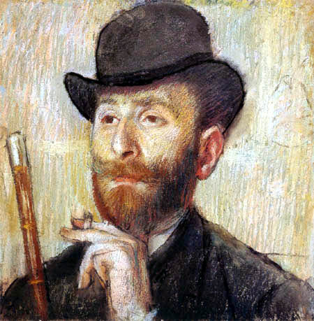 Edgar (Hilaire Germain) Degas (de Gas) - Portait von Zacharian