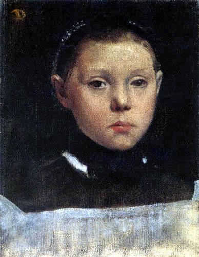Edgar (Hilaire Germain) Degas (de Gas) - Giulia Bellelli