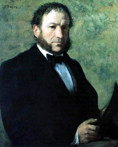 Edgar (Hilaire Germain) Degas (de Gas) - M. Ruelle