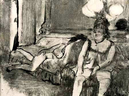 Edgar (Hilaire Germain) Degas (de Gas) - Ruhepause