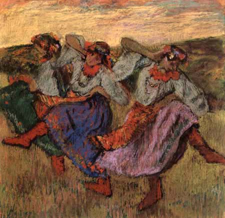 Edgar (Hilaire Germain) Degas (de Gas) - Russische Tänzerinnen