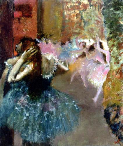 Edgar (Hilaire Germain) Degas (de Gas) - Ballettscene