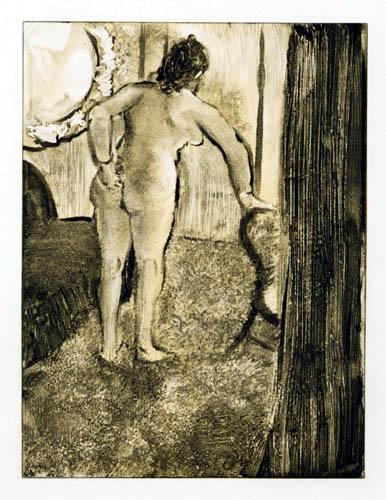 Edgar (Hilaire Germain) Degas (de Gas) - Bordellscene