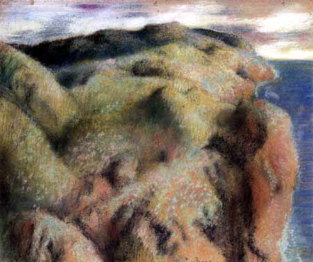 Edgar (Hilaire Germain) Degas (de Gas) - Steilküste
