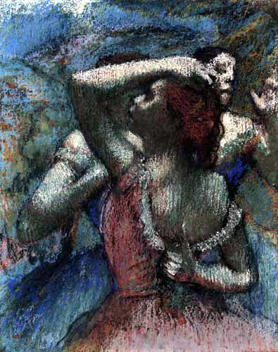 Edgar (Hilaire Germain) Degas (de Gas) - Dancers