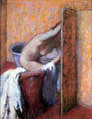 Edgar (Hilaire Germain) Degas (de Gas) - Das Bad