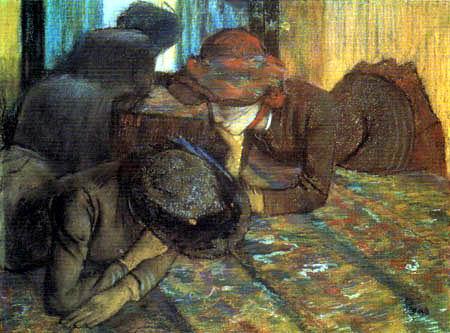 Edgar (Hilaire Germain) Degas (de Gas) - Unterhaltung