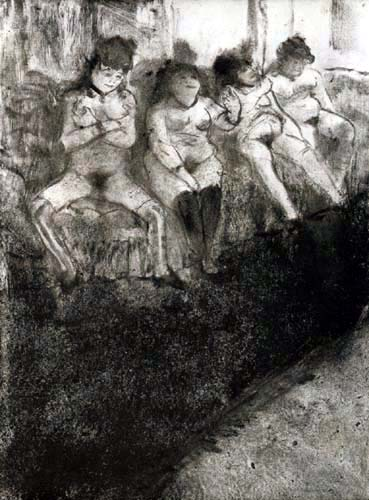 Edgar (Hilaire Germain) Degas (de Gas) - Zeit des Wartens