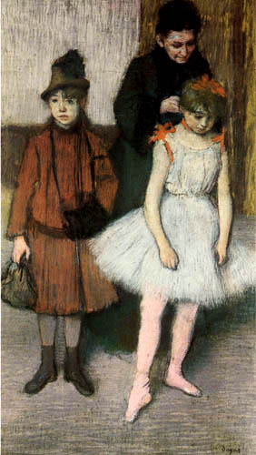 Edgar (Hilaire Germain) Degas (de Gas) - Die Familie Mante