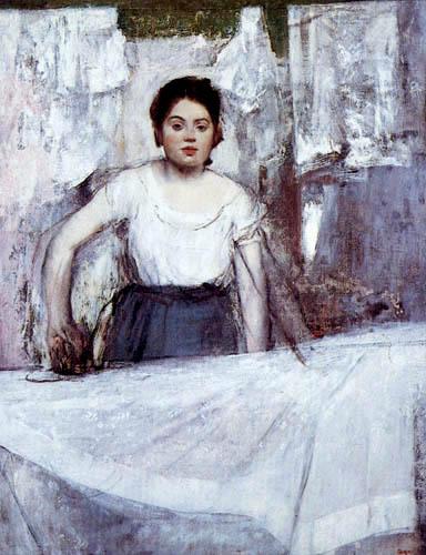 Edgar (Hilaire Germain) Degas (de Gas) - Die Büglerin