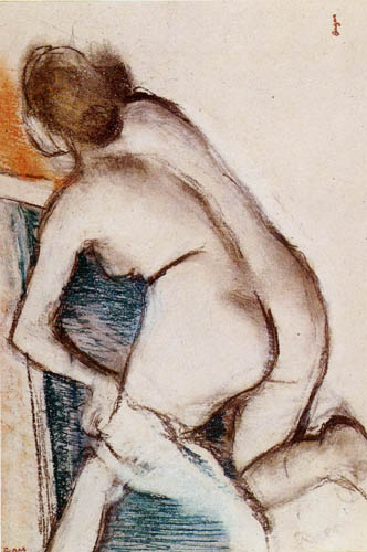 Edgar (Hilaire Germain) Degas (de Gas) - Nach dem Bade