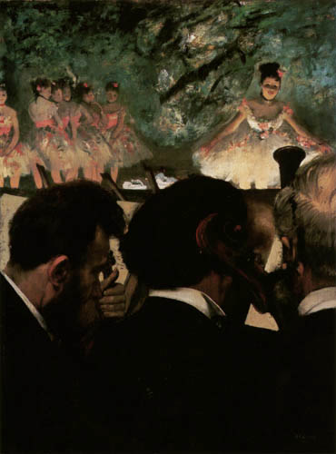 Edgar (Hilaire Germain) Degas (de Gas) - Orchestermusiker