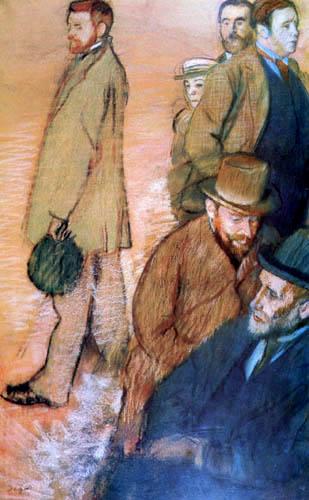 Edgar (Hilaire Germain) Degas (de Gas) - Freunde des Künstlers