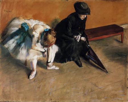 Edgar (Hilaire Germain) Degas (de Gas) - Das Warten