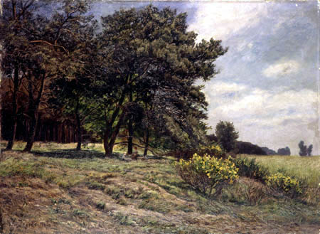 Wilhelm Degode - At the edge of the forest