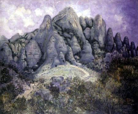 William Degouve de Nuncques - Montserrat