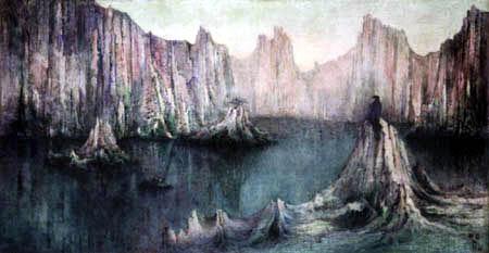 William Degouve de Nuncques - Travel dreams