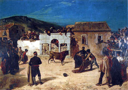Alfred Dehodencq - Bullfight in Spain