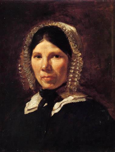 Eugene Delacroix - Portrait of Jeanne-Marie le Guillou