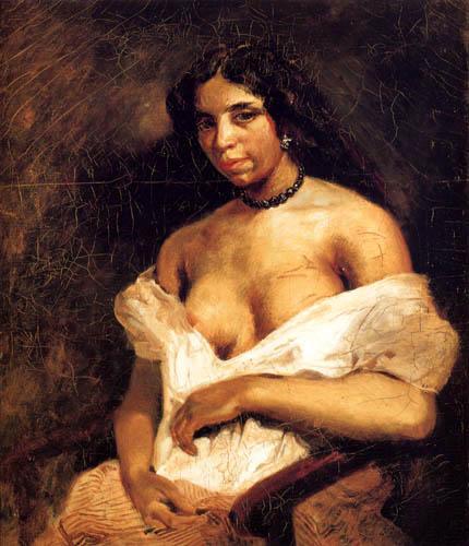 Eugene Delacroix - Aspasia