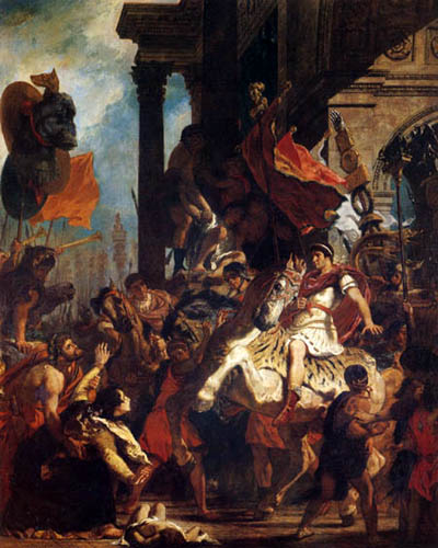 Eugene Delacroix - Justice