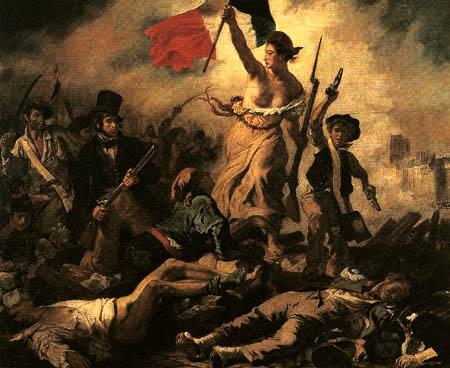 Eugene Delacroix - Die Freiheit auf den Barrikaden