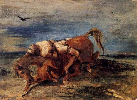 Eugene Delacroix - Mazeppa