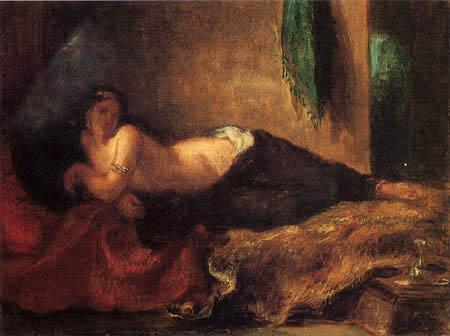 Eugene Delacroix - Odaliske