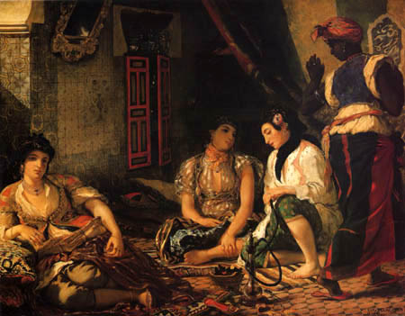 Eugene Delacroix - Women of Algiers in their room