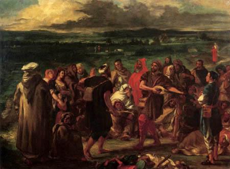 Eugene Delacroix - Arabische Komödianten