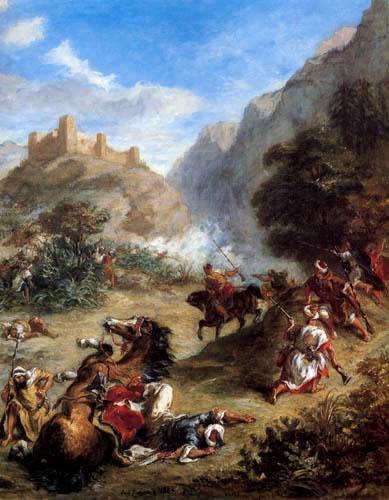 Eugene Delacroix - Arabische Steuereintreibung