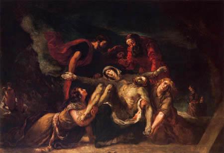 Eugene Delacroix - Piedad