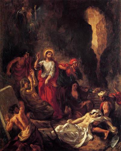 Eugene Delacroix - The Raising of Lazarus
