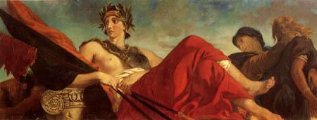 Eugene Delacroix - Der Krieg