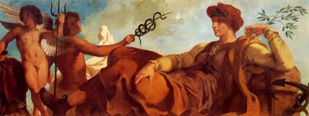 Eugene Delacroix - Industry