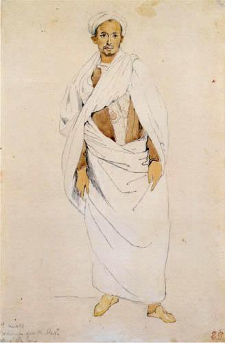 Eugene Delacroix - Junger Marokkaner