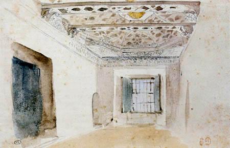 Eugene Delacroix - Arabian interior