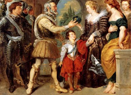 Eugene Delacroix - Henri IV. and Marie de Medicis