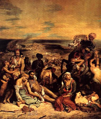 Eugene Delacroix - Das Massaker von Chios