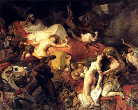Eugene Delacroix - Der Tod des Sardanapal II
