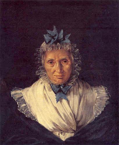 Eugene Delacroix - Madame Anne Françoise Bornot