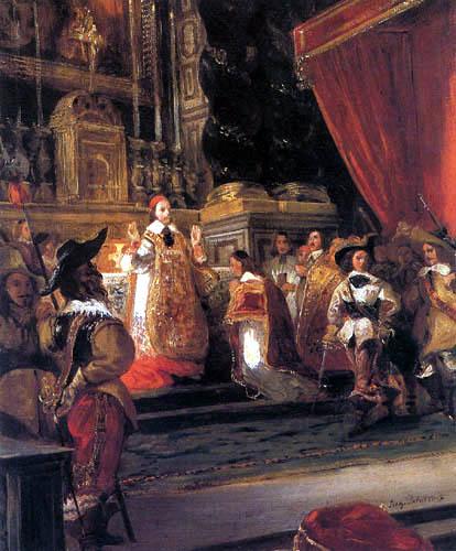 Eugene Delacroix - Cardinal Richelieu
